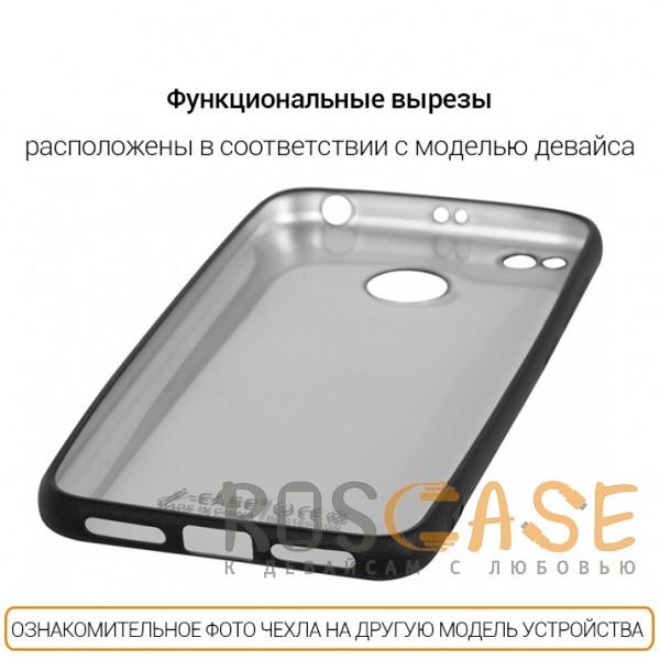 Фотография Черный J-Case THIN | Гибкий силиконовый чехол для Samsung G955 Galaxy S8 Plus