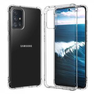 King Kong | Противоударный прозрачный чехол для Samsung Galaxy A51 с защитой углов