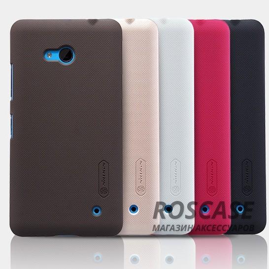 Чехол Nillkin Matte для Microsoft Lumia 640 (+ пленка)Описание:производитель - компания&amp;nbsp;Nillkin;материал - поликарбонат;совместим с Microsoft Lumia 640;тип - накладка.&amp;nbsp;Особенности:матовый;прочный;тонкий дизайн;не скользит в руках;не выцветает;пленка в комплекте.<br><br>Тип: Чехол<br>Бренд: Nillkin<br>Материал: Поликарбонат