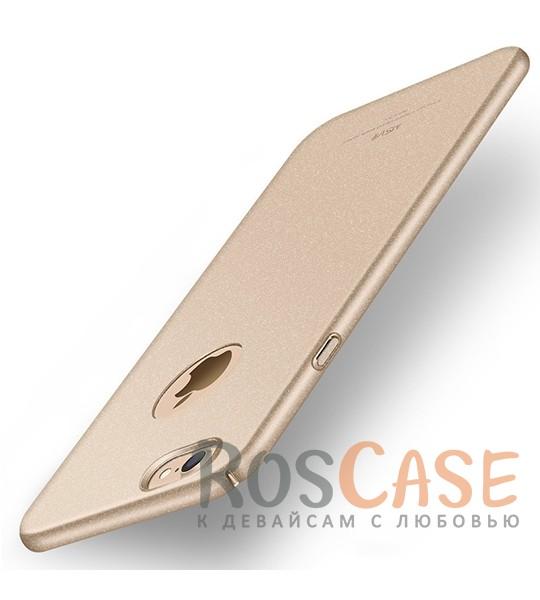 Пластиковый чехол Msvii Quicksand series для Apple iPhone 7 (4.7) (Золотой)Описание:производитель - Msvii;совместим с Apple iPhone 7 (4.7);материал  -  пластик;тип  -  накладка.&amp;nbsp;Особенности:матовая поверхность;имеет все разъемы;тонкий дизайн не увеличивает габариты;накладка не скользит;защищает от ударов и царапин;износостойкая.<br><br>Тип: Чехол<br>Бренд: Epik<br>Материал: Пластик