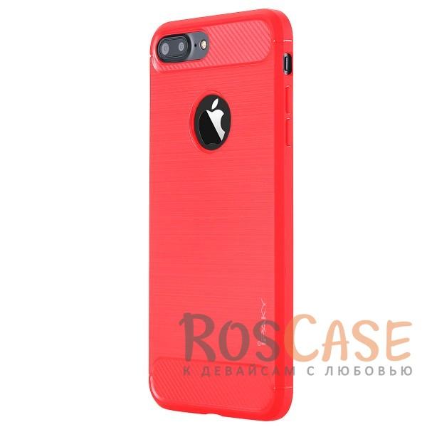 Стильный чехол с карбоновыми вставками iPaky (original) Slim для Apple iPhone 7 plus / 8 plus (5.5) (Розовый)Описание:бренд - iPaky;совместим с Apple iPhone 7 plus / 8 plus (5.5);материал: термополиуретан;тип: накладка.Особенности:эластичный;свойство анти-отпечатки;защита углов от ударов;ультратонкий;защита боковых кнопок;надежная фиксация.<br><br>Тип: Чехол<br>Бренд: iPaky<br>Материал: TPU