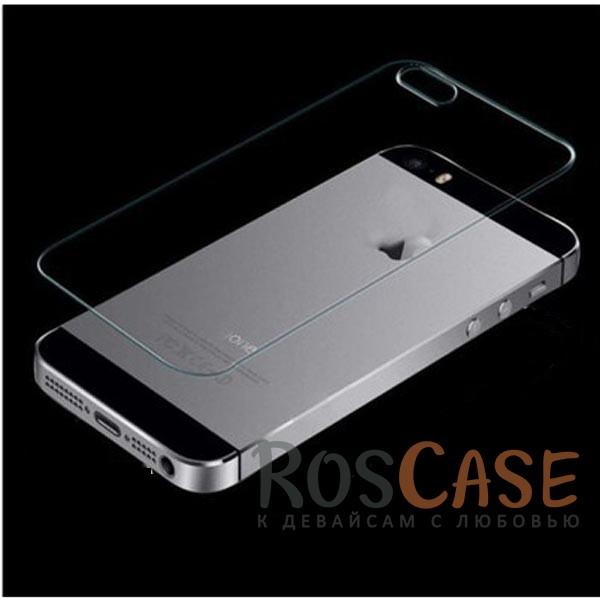 Защитное стекло Ultra Tempered Glass 0.33mm (H+) для Apple iPhone 5/5S (на заднюю панель)Описание:бренд-производитель:&amp;nbsp;Epik;совместимость: Apple iPhone 5/5S/5SE;материал: закаленное стекло;тип: защитное стекло.&amp;nbsp;Особенности:имеются все функциональные вырезы;фильтрует ультрафиолет;не влияет на чувствительность сенсора;легко очищается;толщина - &amp;nbsp;0,33 мм;высокая прочность;защита от царапин.<br><br>Тип: Защитное стекло<br>Бренд: Epik