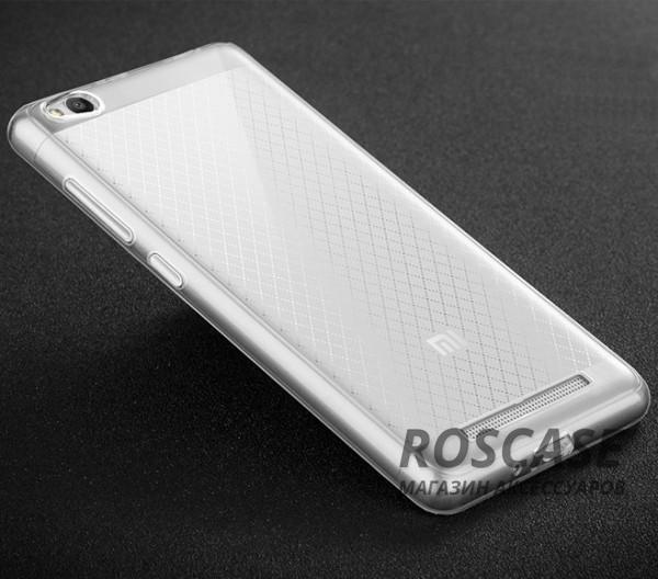 Тонкий прозрачный силиконовый чехол Msvii для Xiaomi Redmi 3 с заглушкой +стекло (Бесцветный)Описание:производитель  -  Msvii;совместимость  -  смартфон Xiaomi Redmi 3;материал  -  силикон;форм-фактор  -  накладка.Особенности:в комплект входит заглушка;имеет высокий уровень прочности и износостойкости;обладает хорошей гибкостью и эластичностью;не деформируется;имеет все необходимые функциональные вырезы;защитное стекло на экран в комплекте.<br><br>Тип: Чехол<br>Бренд: Epik<br>Материал: TPU