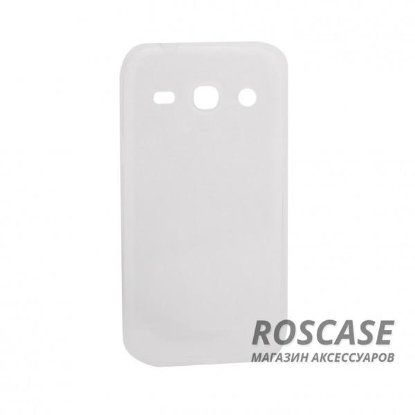 Ультратонкий силиконовый чехол Ultrathin 0,33mm для Samsung G350E Galaxy Star AdvanceОписание:изготовлен компанией&amp;nbsp;Epik;разработан для Samsung G350E Galaxy Star Advance;материал: термополиуретан;тип: накладка.&amp;nbsp;Особенности:толщина накладки - 0,33 мм;прозрачный;эластичный;надежно фиксируется;есть все функциональные вырезы.<br><br>Тип: Чехол<br>Бренд: Epik<br>Материал: TPU