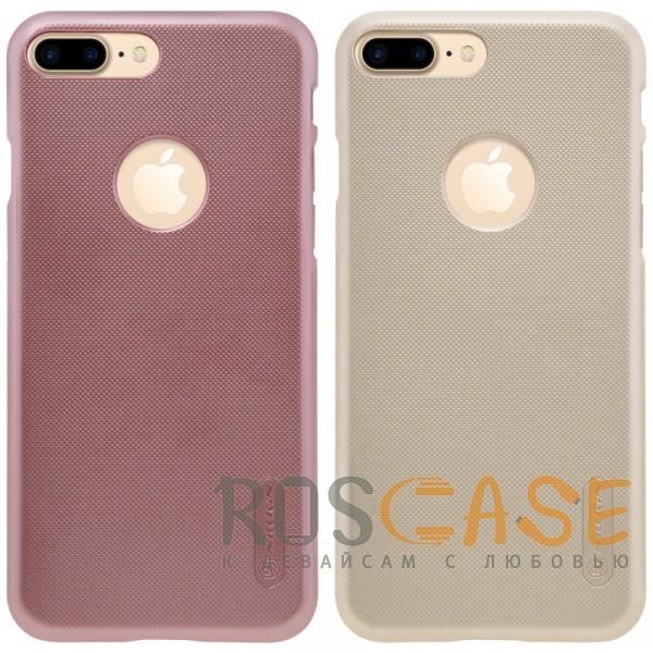 Nillkin Super Frosted Shield | Матовый чехол для Apple iPhone 7 plus / 8 plus (5.5) (+ пленка)Описание:бренд&amp;nbsp;Nillkin;спроектирована для&amp;nbsp;Apple iPhone 7 plus / 8 plus (5.5);материал - поликарбонат;тип - накладка.Особенности:фактурная поверхность;защита от ударов и царапин;тонкий дизайн;наличие функциональных вырезов;пленка на экран в комплекте.<br><br>Тип: Чехол<br>Бренд: Nillkin<br>Материал: Поликарбонат