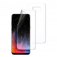 Бронированная прозрачная пленка на обе стороны для Samsung G955 Galaxy S8 Plus