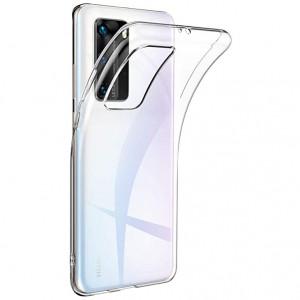 Прозрачный силиконовый чехол  для Huawei P40 Pro
