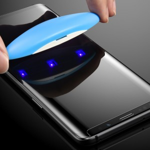 Mocolo | 3D защитное стекло для Samsung Galaxy S9 с ультрафиолетовой лампой