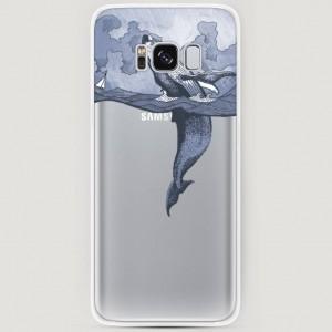 RosCase | Силиконовый чехол Два измерения на Samsung G950 Galaxy S8