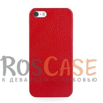 Кожаная накладка TETDED для Apple iPhone 5/5S/SE (Красный / Red)Описание:Изготовлена компанией TETDED;Спроектирована персонально для Apple iPhone 5/5S/5SE;Материал изготовления: синтетическая кожа;Форма: накладка.Особенности:Исключается появление царапин и возникновение потертостей;Восхитительная амортизация при любом ударе;Гладкая фактурная поверхность;Обладает элегантным, изысканным дизайномНе подвержена деформации;Непритязательна в уходе.<br><br>Тип: Чехол<br>Бренд: TETDED<br>Материал: Натуральная кожа