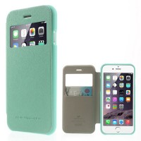 "фото Бирюзовый Mercury Wow Bumper | Чехол-книжка  для Apple iPhone 6 (4.7"")"