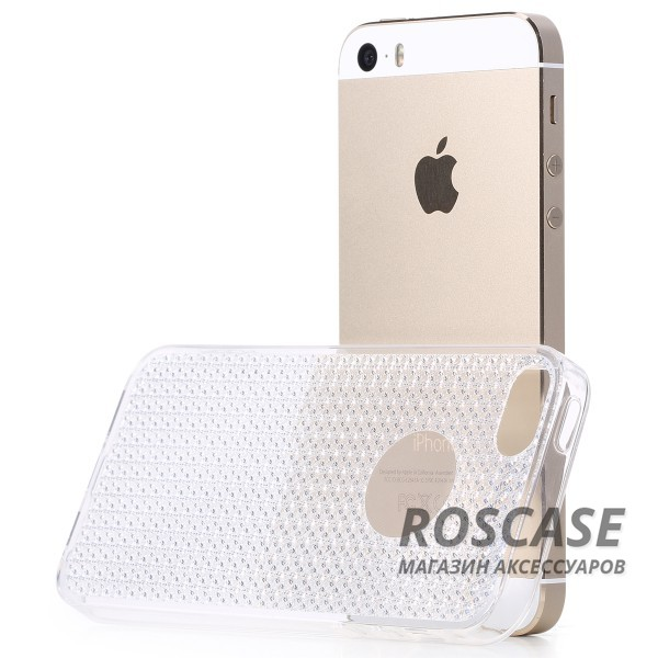 фото Бесцветный / Transparent TPU чехол Rock Fla Series для Apple iPhone 5/5S/SE