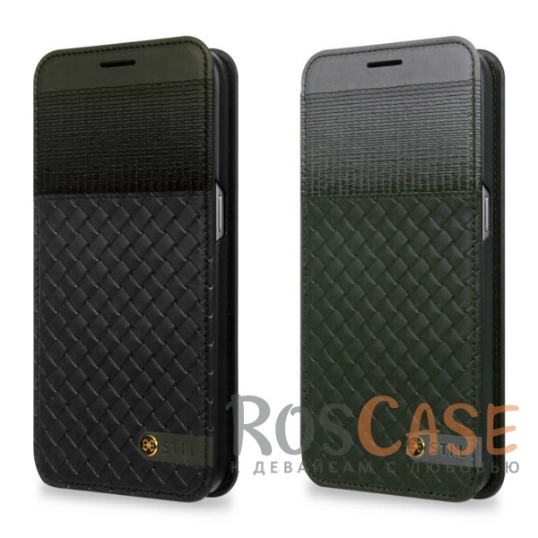 Кожаный чехол-книжка STIL Spiga Series для Samsung G930F Galaxy S7 (+ карман для визиток)Описание:создан компанией&amp;nbsp;STIL;разработан с учетом особенностей Samsung G930F Galaxy S7;материалы - натуральная кожа, полиуретан;тип - чехол-книжка.Особенности:слот для визиток;плетеная фактура обложки;плотно садится на корпус устройства;доступ ко всем функциям гаджета благодаря точным вырезам;защита от царапин и ударов со всех сторон;размеры - 146*76*17 мм, 68&amp;nbsp;гр.<br><br>Тип: Чехол<br>Бренд: Stil<br>Материал: Натуральная кожа