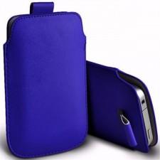 Кожаный чехол футляр с язычком  для Samsung Galaxy S4 mini (i9190)