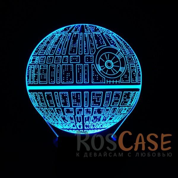 """Изображение Звёздные войны Светодиодный 3D светильник-ночник с проекцией объемного изображения """"Star Wars"""""""
