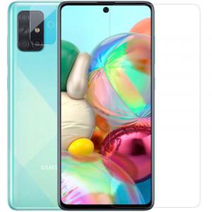 Nillkin Crystal | Защитная пленка Анти-отпечатки  для Samsung Galaxy M51