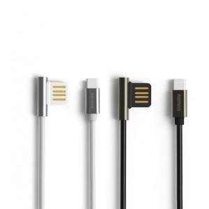 Remax Emperor   Дата кабель USB to Type-C с угловым штекером USB (100 см)