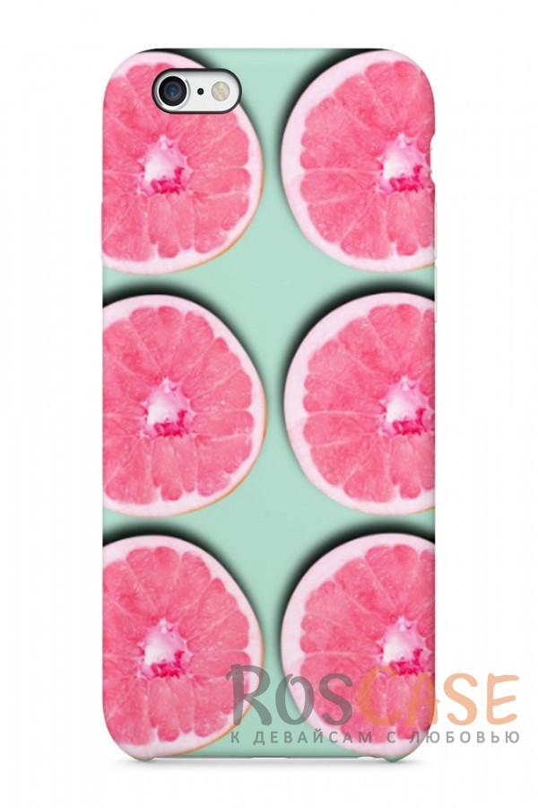 """Фото Апельсинки Пластиковый чехол RosCase """"Отпуск"""" для iPhone 6/6s (4.7"""")"""