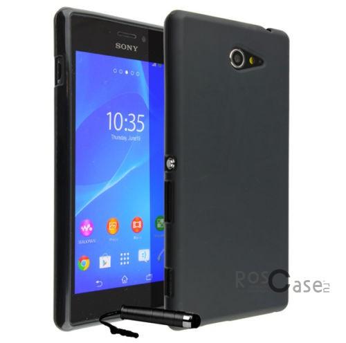 TPU чехол для Sony Xperia M2 (Черный (soft-touch))Описание:марка производителя: Epik;подходит для смартфона Sony Xperia M2;материал  -  термополиуретан;форм-фактор  -  накладка;&amp;nbsp;Особенности:огромный выбор цветового дизайна;легкая фиксация;отменная гибкость и эластичность;удобный в уходе;приятные тактильные характеристики.<br><br>Тип: Чехол<br>Бренд: Epik<br>Материал: TPU