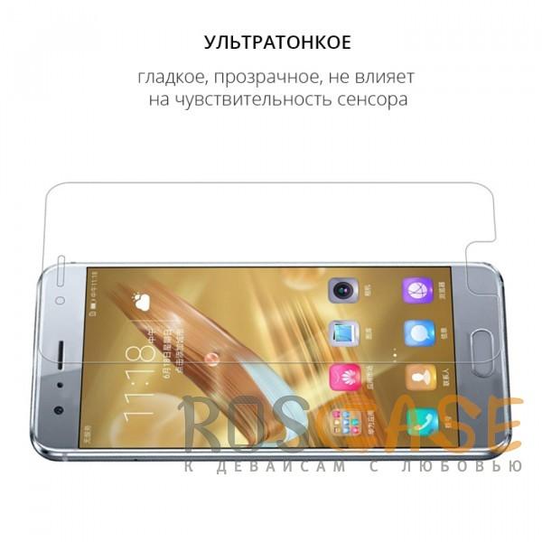 Фотография Прозрачное защитное стекло с закругленными краями и олеофобным покрытием для Huawei Honor 9