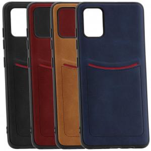 ILEVEL | Чехол с кожаным покрытием и карманом  для Samsung Galaxy S10 Lite (2020)