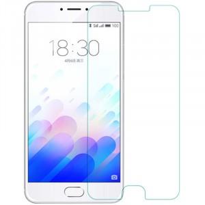 Прозрачное защитное стекло с закругленными краями и олеофобным покрытием для Meizu M3 Note