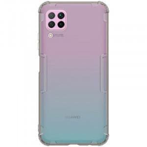 Nillkin Nature | Прозрачный силиконовый чехол  для Huawei P40 Lite