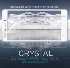 Nillkin Crystal   Прозрачная защитная пленка для Xiaomi Redmi 3 / Redmi 3 Pro / Redmi 3s