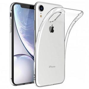 Прозрачный силиконовый чехол  для iPhone XR