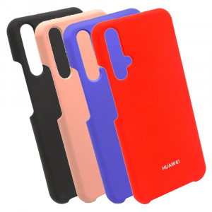 Silicone Cover | Силиконовый чехол с микрофиброй для Huawei Honor 20 / Nova 5T