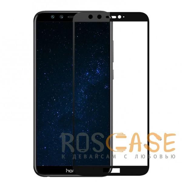 Фотография Черное Artis 2.5D   Цветное защитное стекло на весь экран для Huawei Honor 9 Lite на весь экран