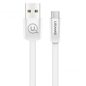 USAMS US-SJ200 | Плоский дата кабель USB to Type-C (120 см) для Samsung Galaxy S8 Plus (G955)