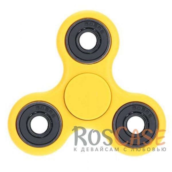 Игрушка-антистресс спиннер Fidget Hand Spinner (Желтый)Описание:материал - пластик;успокаивает;помогает сконцентрироваться;размеры - 7,5*1 см, радиус - 4 см;подходит для взрослых и детей.<br><br>Тип: Общие аксессуары<br>Бренд: Epik
