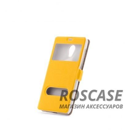 Чехол (книжка) с PC креплением для Meizu M2 / M2 mini (Желтый)Описание:разработан компанией&amp;nbsp;Epik;спроектирован для Meizu M2 / M2 mini;материалы: синтетическая кожа, поликарбонат;тип: чехол-книжка.&amp;nbsp;Особенности:имеются все функциональные вырезы;не скользит в руках;магнитная застежка;окошки в обложке;защита от ударов и падений;превращается в подставку.<br><br>Тип: Чехол<br>Бренд: Epik<br>Материал: Искусственная кожа