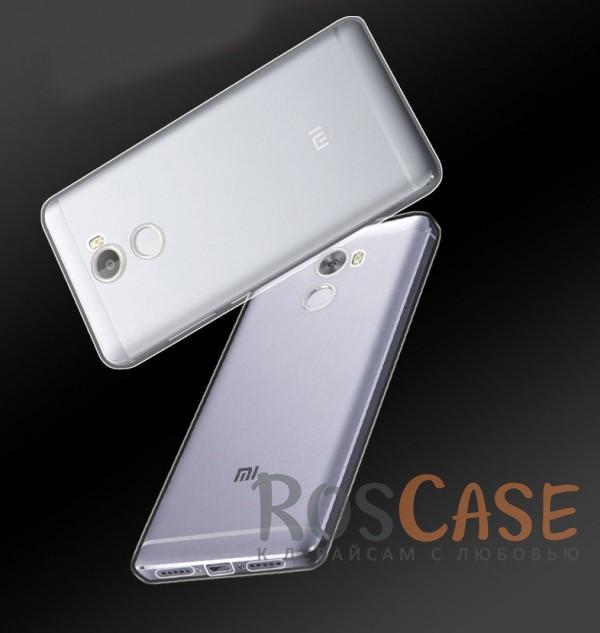 Ультратонкий силиконовый чехол для Xiaomi Redmi 4 (Бесцветный (прозрачный))Описание:бренд:&amp;nbsp;Epik;совместим с Xiaomi Redmi 4;материал: термополиуретан;тип: накладка.&amp;nbsp;Особенности:ультратонкий дизайн - 0,33 мм;прозрачный;эластичный и гибкий;надежно фиксируется;все функциональные вырезы в наличии.<br><br>Тип: Чехол<br>Бренд: Epik<br>Материал: TPU