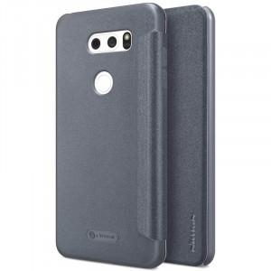 Кожаный чехол (книжка) Nillkin Sparkle для LG H930 / H930DS V30 / V30+