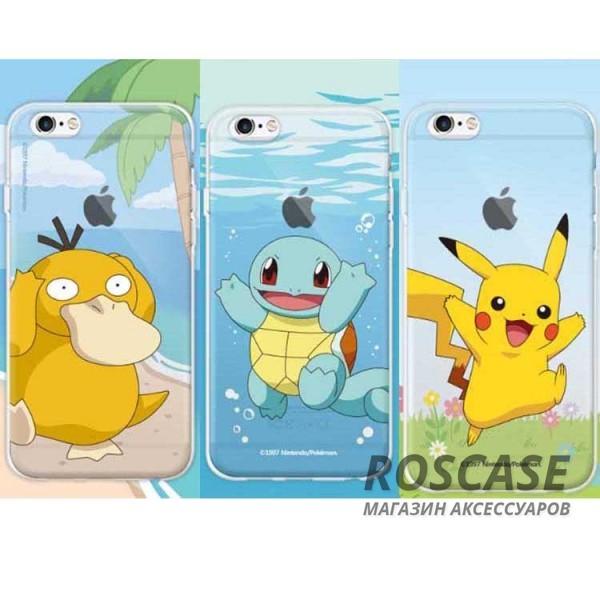 """Фото Силиконовый чехол """"Funny Pokemons"""" для Apple iPhone 6/6s (4.7"""")"""