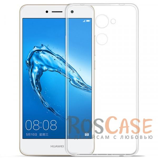 Изображение Бесцветный (прозрачный) Ультратонкий силиконовый чехол для Huawei Y7 Prime
