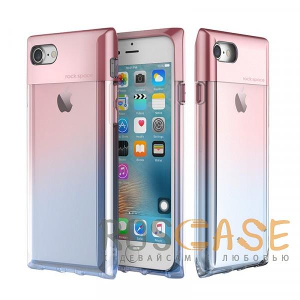 Rock Crystal | Чехол для Apple iPhone 7 / 8 (4.7) в виде флакона духов с градиентной расцветкой (Розовый / Transparent pink)Описание:бренд&amp;nbsp;Rock;совместимость:&amp;nbsp;Apple iPhone 7 / 8 (4.7);материал: термополиуретан и поликарбонат;вид: накладка.<br><br>Тип: Чехол<br>Бренд: ROCK<br>Материал: TPU
