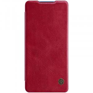Nillkin Qin   Чехол-книжка из Premium экокожи  для Samsung Galaxy S20 FE (Fan Edition)