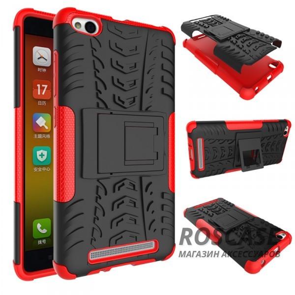 Противоударный двухслойный чехол Shield для Xiaomi Redmi 3 с подставкой (Красный)Описание: совместимость: Xiaomi Redmi 3;форм-фактор: накладка;материал: термополиуретан, поликарбонат.Преимущества:устойчив к повреждениям;не скользит в руках;имеет функцию подставки;эргономичный;легко очищается;надежная фиксация;анти-отпечатки.<br><br>Тип: Чехол<br>Бренд: Epik<br>Материал: TPU