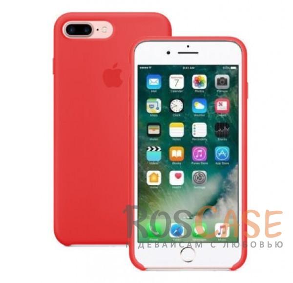 TPU чехол Rock Silicon Touch Series для Apple iPhone 7 plus (5.5) (Красный / Red)Описание:производитель  - &amp;nbsp;Rock;форм-фактор  -  накладка;материал  -  термополиуретан;совместим с Apple iPhone 7 plus (5.5).Особенности:имеются проемы под внешние порты, динамик, камеру, регулятор громкости, вырез под логотип;обеспечен функциями &amp;laquo;анти-удар&amp;raquo;, &amp;laquo;анти-отпечатки&amp;raquo;, &amp;laquo;анти-скольжение&amp;raquo;;дизайн  -  ультратонкий;система фиксации.<br><br>Тип: Чехол<br>Бренд: Nillkin<br>Материал: Силикон
