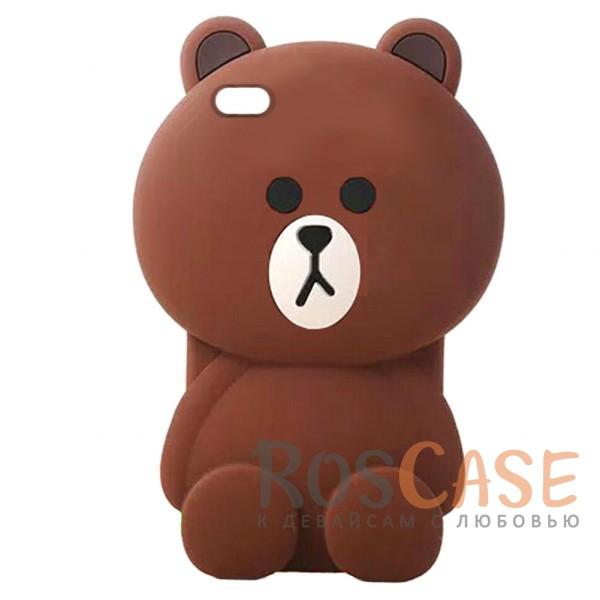 Большой силиконовый чехол-игрушка медведь Тедди для Xiaomi Redmi Note 5A / Redmi Y1 Lite (Коричневый)Описание:материал - силикон;объемный 3D дизайн;разработан специально для Xiaomi Redmi Note 5A / Redmi Y1 Lite;выполнен в виде мишки;предусмотрены все вырезы;не скользит в руках.<br><br>Тип: Чехол<br>Бренд: Epik<br>Материал: Силикон
