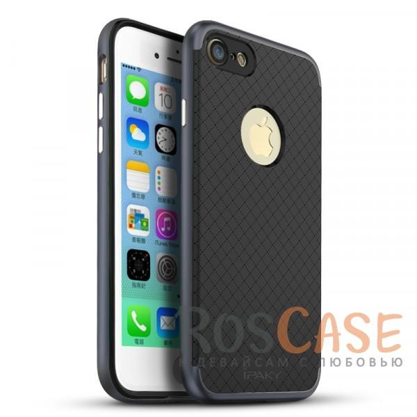 iPaky Hybrid | Противоударный чехол для Apple iPhone 7 / 8 (4.7) (Черный / Серый)Описание:производитель - iPaky;совместим с Apple iPhone 7 / 8 (4.7);материал: термополиуретан, поликарбонат;форма: накладка на заднюю панель.Особенности:эластичный;рельефная поверхность;прочная окантовка;ультратонкий;надежная фиксация.<br><br>Тип: Чехол<br>Бренд: iPaky<br>Материал: TPU