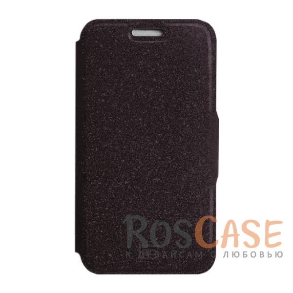 Стильный блестящий защитный чехол-книжка Gresso для смартфона с диагональю 5.5-6.0 дюймов (Черный)Описание:бренд -&amp;nbsp;Gresso;совместимость -&amp;nbsp;смартфоны с диагональю&amp;nbsp;5.5-6.0 дюймов;материал - искусственная кожа;тип - чехол-книжка;блестящая поверхность;силиконовый шелл-крепление;магнитная застежка;защита со всех сторон;ВНИМАНИЕ: убедитесь, что ваша модель устройства находится в пределах максимального размера чехла. Размеры чехла:&amp;nbsp;15,2х8,2 см.<br><br>Тип: Чехол<br>Бренд: Gresso<br>Материал: Натуральная кожа