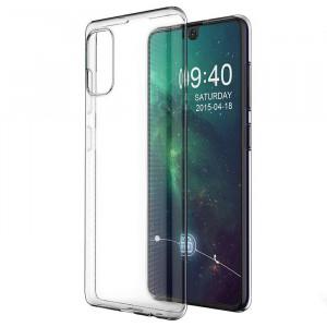 Прозрачный силиконовый чехол  для Samsung Galaxy A41