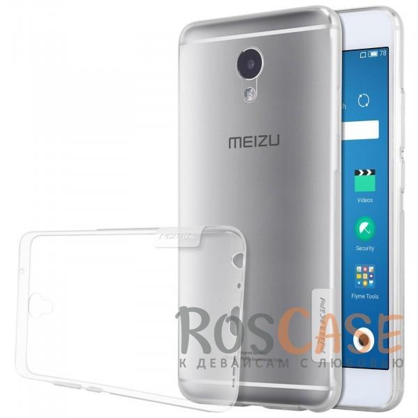Мягкий прозрачный силиконовый чехол Nillkin Nature для Meizu M5 Note (Бесцветный (прозрачный))Описание:бренд:&amp;nbsp;Nillkin;совместимость: Meizu M5 Note;материал: термополиуретан;тип: накладка;ультратонкий дизайн;прозрачный корпус;не скользит в руках;защищает от механических повреждений.<br><br>Тип: Чехол<br>Бренд: Nillkin<br>Материал: TPU