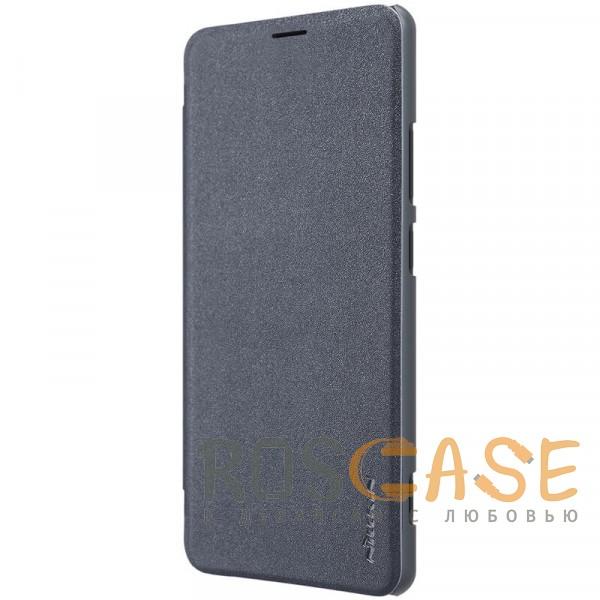 Изображение Черный Nillkin Sparkle | Чехол-книжка для Huawei Honor Note 10