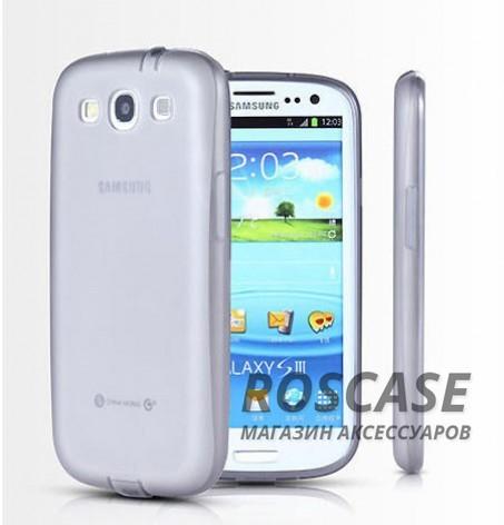 TPU чехол Ultrathin Series 0,33mm для Samsung i9300 Galaxy S3 (Серый (прозрачный))Описание:изготовлен компанией&amp;nbsp;Epik;разработан для Samsung i9300 Galaxy S3;материал: термополиуретан;тип: накладка.&amp;nbsp;Особенности:толщина накладки - 0,33 мм;прозрачный;эластичный;надежно фиксируется;есть все функциональные вырезы.<br><br>Тип: Чехол<br>Бренд: Epik<br>Материал: TPU