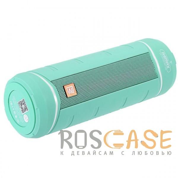 Фото Голубой Remax RB-M10 | Портативная колонка (Bluetooth) с USB входом для флешки